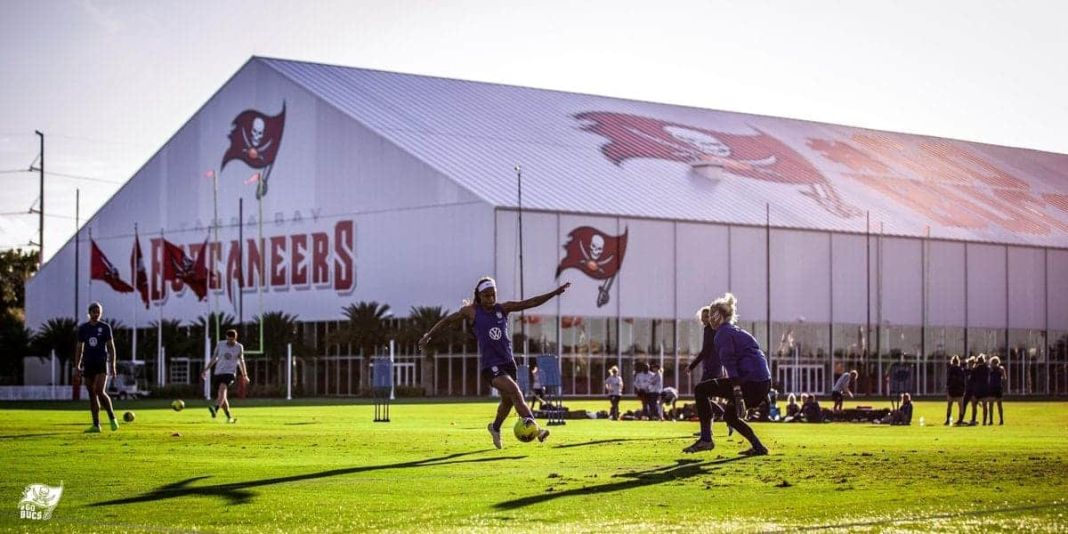 AdventHealth Training Center/via buccaneers.com