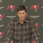 Buccaneers' Brady on Late Game Interception