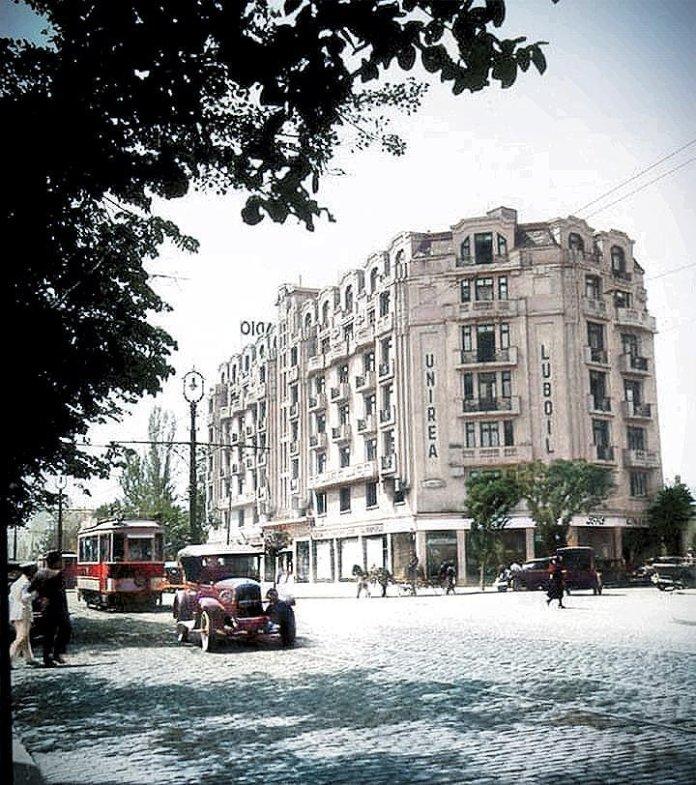 Bulevardul Take Ionescu, Palatul Lido, undeva între 1930