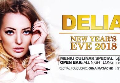 New Year's Eve 2018 – Main Guest Delia la Jubile Concept
