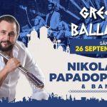 Seară Grecească: Nikolaos Papadopoulos & Band – Greek Ballads