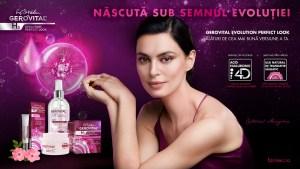 Catrinel Menghia a devenit ambasador pentru Gerovital H3 Evolution Perfect Look, noul brand Farmec