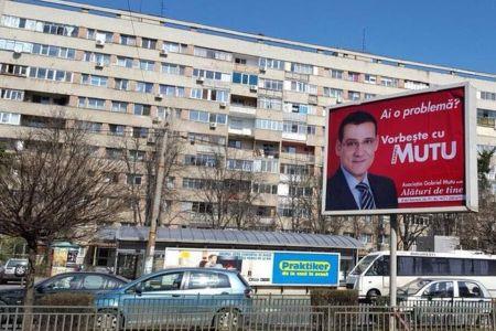 Ca-n vestul salbatic! Bucurestiul s-a umplut de bannere si afise electorale ilegale!