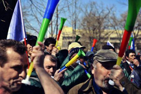 Protest URIAS in Bucuresti! Toti bugetarii ies miercuri in fata Parlamentului!