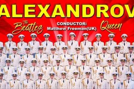 """Tensiuni inutile pentru """"Corul Armatei Rosii Alexandrov""""! Vezi un concert unic in lume la Sala Palatului!"""