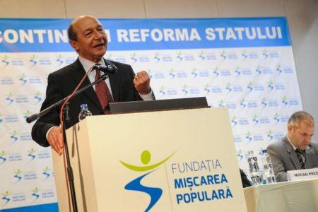 Basescu anunta lista candidatilor PMP la parlamentare! Candidatura SURPRIZA in Bucuresti!