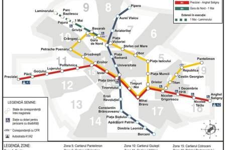 Metrorex deschide intr-o saptamana doua noi statii de metrou!