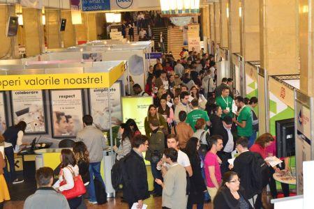 Cel mai mare targ de joburi din Bucuresti! Salarii de 1500 de euro si peste 5000 de posturi disponibile!