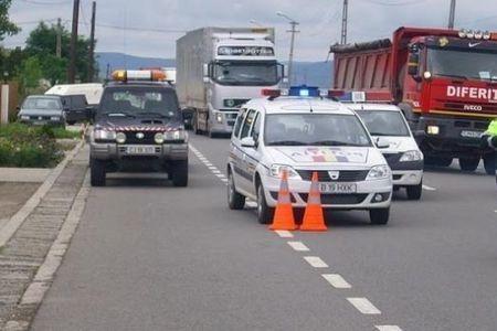 O teava de gaze s-a fisurat intre Tunari si Otopeni! Traficul pe Centura este intrerupt!