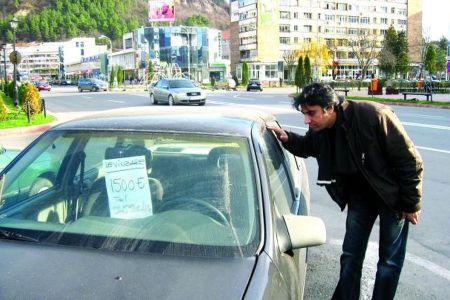 Primaria Capitalei INTERZICE masinile cu anunt de vanzare in oras! Urmeaza AMENZI!