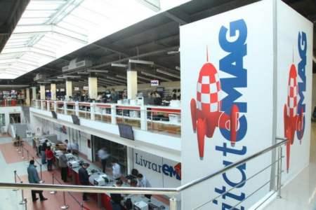 eMAG deschide in Titan CEL MAI MARE showroom din Romania!