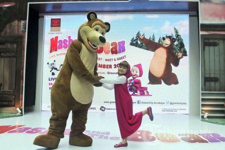 Copiii sunt innebuniti dupa ei! Masha si Ursul vin la Bucuresti cu un spectacol LIVE!