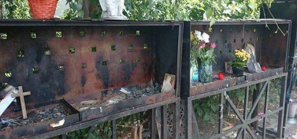 Respect de Bucuresti: A fost VANDALIZAT altarul dedicat victimelor din Colectiv!