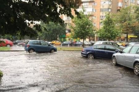 Gabriela Firea despre inundatiile din Bucuresti: S-au inregistrat acumulari de apa…