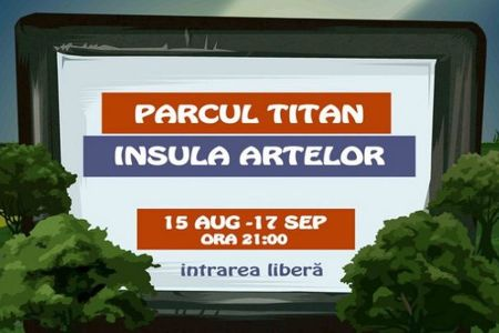 Cinema in aer liber, in week-end, in Parcul Titan. Vezi ce filme ruleaza!
