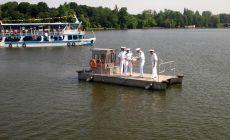 Ziua Marinei este sarbatorita si in Parcul Herastrau. Plimbari gratuite cu vaporasul