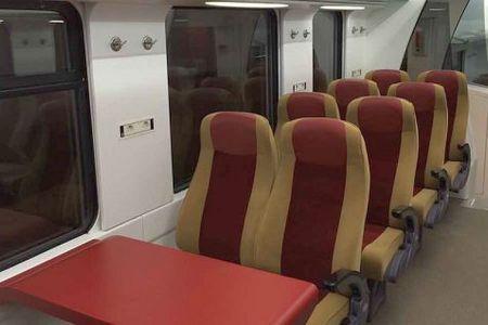 Tren nou pe ruta Bucuresti-Brasov: 30 de lei biletul, 2 ore si jumatate calatoria, conditii ca in vest!