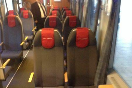 FOTO – Cum arata noul tren modernizat care circula pe ruta Bucuresti-Constanta!
