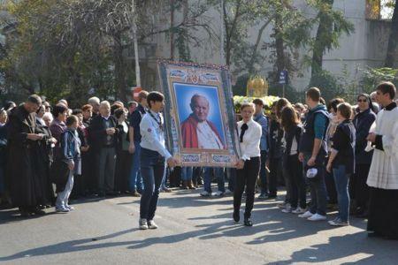 Restrictii temporare de circulatie pentru desfasurarea unei procesiuni religioase