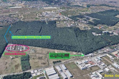 Primaria Capitalei va amenaja un drum prin Padurea Baneasa pentru locuitorii cartierului Greenfield