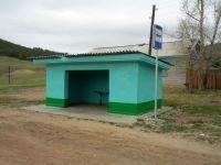 Автобусная остановка в Бурнашево
