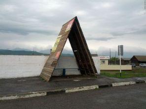 Автобусная остановка в Зун-Мурино