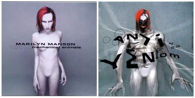Marilyn Manson album cover Antivenom cover