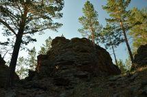 Меркитская крепость. Стены-камни