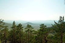 Тугнуйская долина с Меркитской крепости