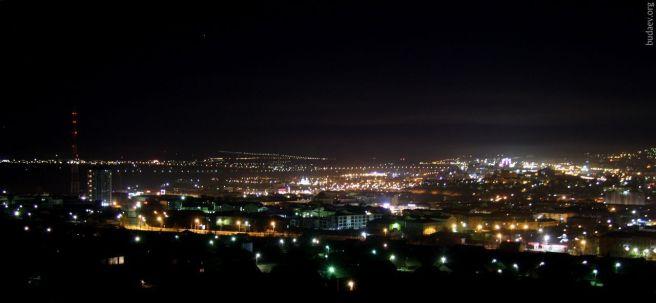 Ночной Улан-Удэ