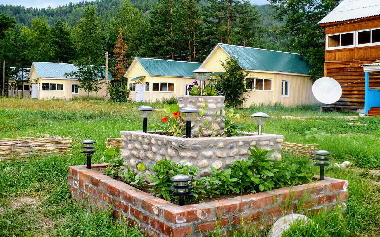 Umkhey Resort in Kurumkansky District of Buryatia