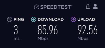 Budapest internet speed with DIGI