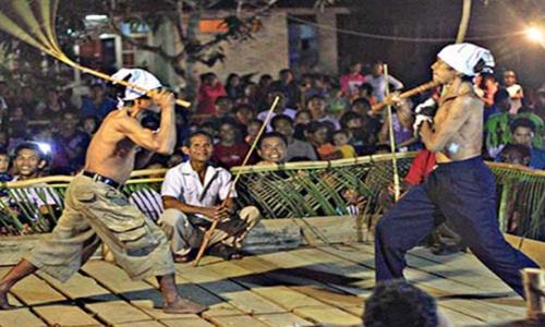 tarian tradisional bangka belitung