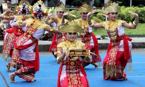 Tarian Khas Lampung