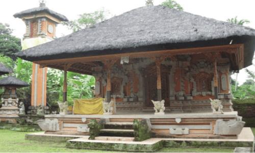 bentuk rumah adat bali