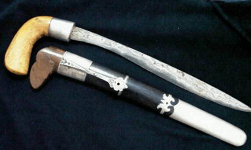 senjata tradisional