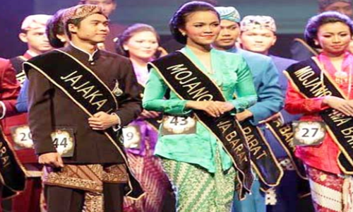 baju adat Jawa Barat modern