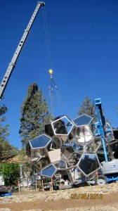 The Master Riggers at Budco installed Cloud City in Colorado Springs.