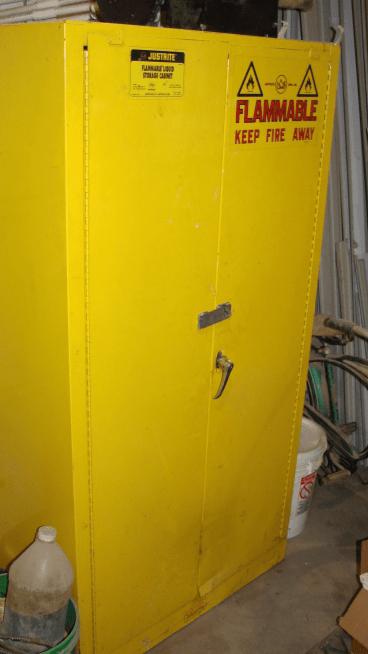 Hazardous Materials Cabinet  Budde Enterprises