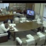 高知県知事室のライブ中継が面白いと話題!16年も歴史がある