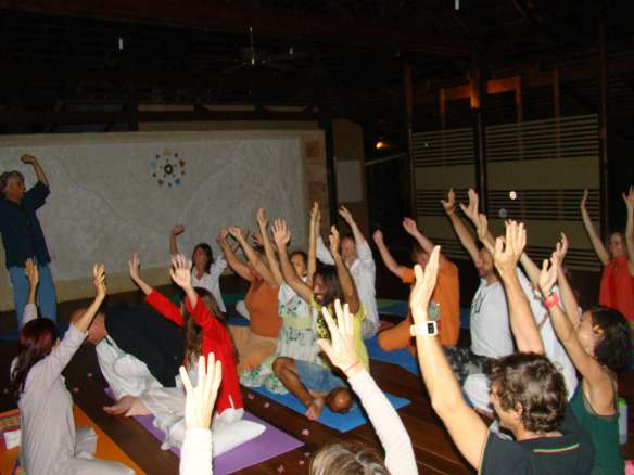 the beginning of our Cleanse and Purification in Thailand... Jan 4, 2012