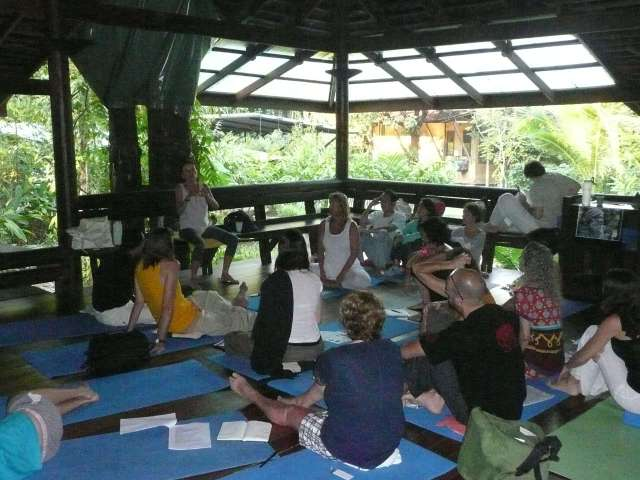 "Teaching ""Conscious Nutrition"" in Koh Chang, Thailand... 2012"