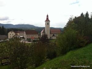 Church near Slovenian Beekeeping Center