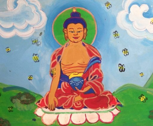 Buddha And The Bees