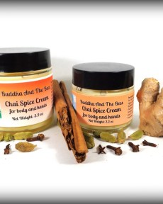 Buddha And The Bees Chai Spice Hand and Body Cream