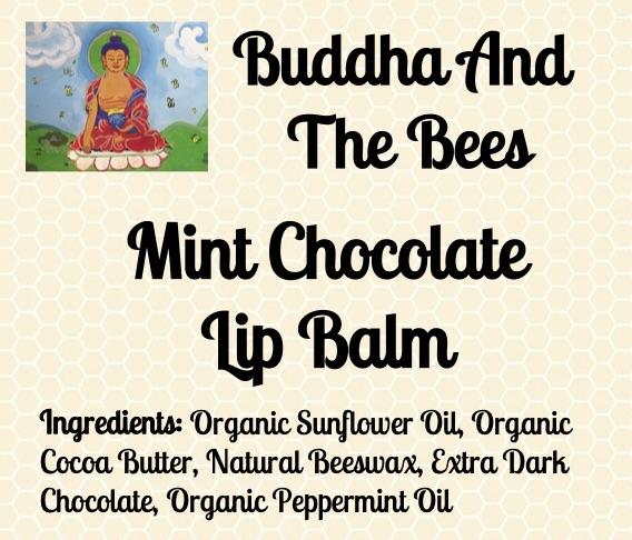 Buddha And The Bees Mint Chocolate Lip Balm