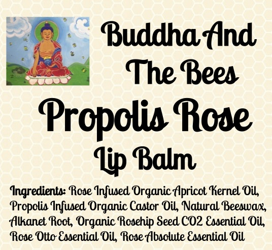 Buddha And The Bees Propolis Rose Lip Balm Ingredients
