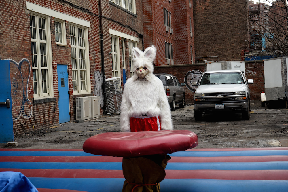 Full-Bunny-Contact-Easter-Carnival-NYC-jousting-cage-match-creepy-bunny-suits-battle-prizes-lower-east-side-rivington-buddha-drinks-fanta-04846