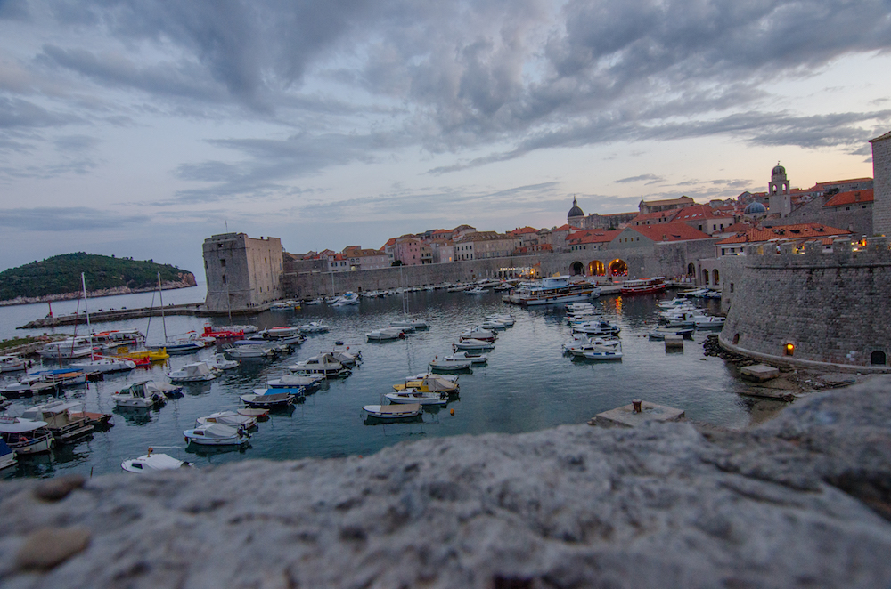 Dubrovnik-Croatia-Old-Town-walls-fort-kayaks-pile-gate-balkans-travel-food-jenny-adams-buddha-drinks-fanta-game-of-thrones