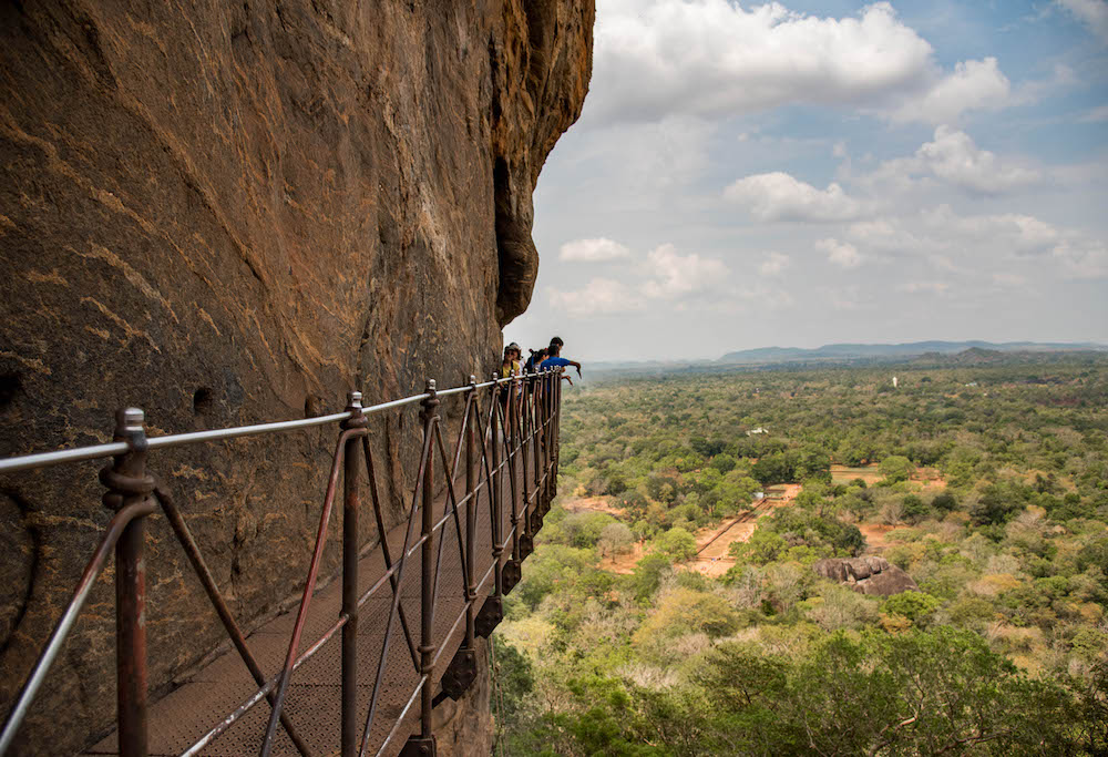lion-rock-sigiriya-staircase-view-platform-heights-danger-scared-hornets-wasps-view-sri-lanka-asia-jenny-adams-freelance-buddha-drinks-fanta